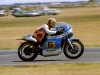 Kenny Blake on the Ron Angel Suzuki - Laverton, Victoria Australia 1976