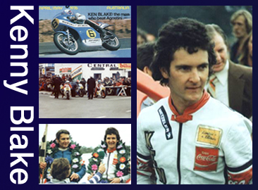 Montage Images of Kenny Blake