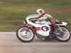 Ken on a borrowed TA 125 Yamaha, Hume Weir 1976